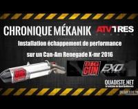Chronique Mékanic: Système d'échappement Big Gun EXO series