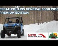 ESSAI: Polaris General 1000 eps 2016