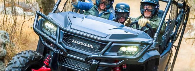 Honda Pioneer 1000 2017:  L'antipatinage maintenant offert sur un côte à côte?