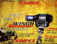 Amortisseur de treuil ''Winch Bumper II'' Gen2 de Kimpex